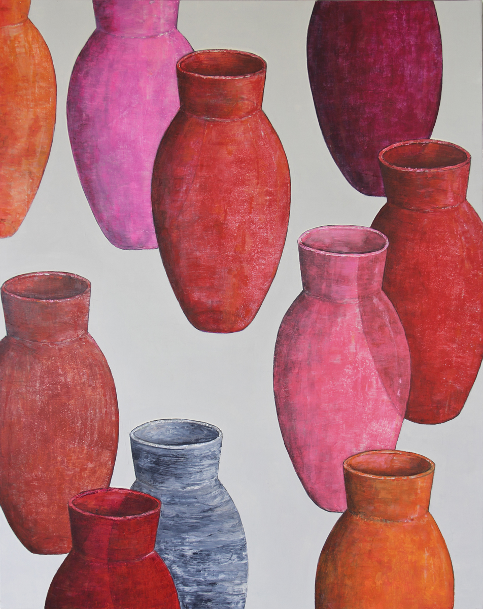 POTS ROUGES A1 92X73 2014