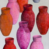 POTS ROUGES A2 92X73 2014