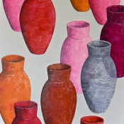 POTS ROUGES A3 92X73 2014